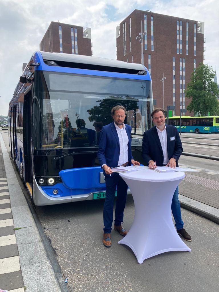 ebusco composite buses netherlands
