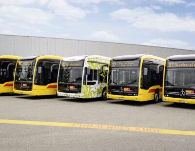 Mercedes-Benz Electrifies North-West Switzerland with Five eCitaro