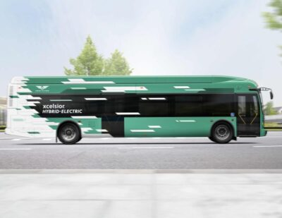 Westchester County Adds 40 Hybrid-Electric Buses From New Flyer