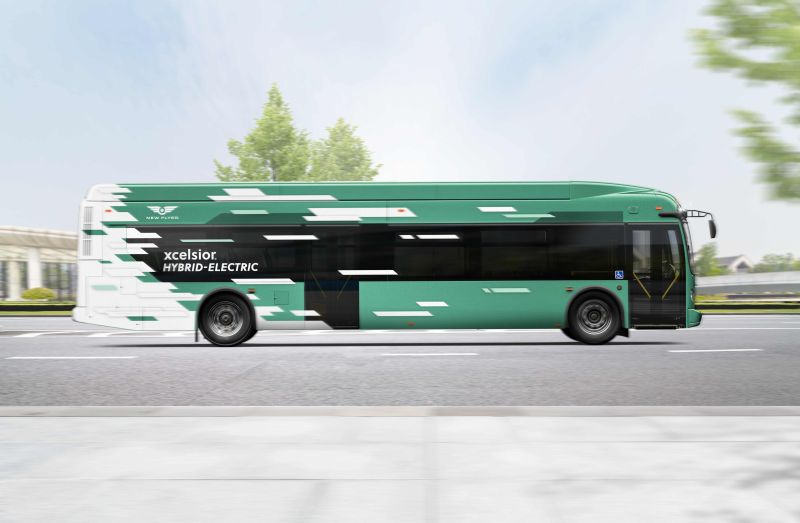 westchester new flyer buses