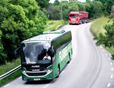 Scania: Premiere for the First International Biogas Bus