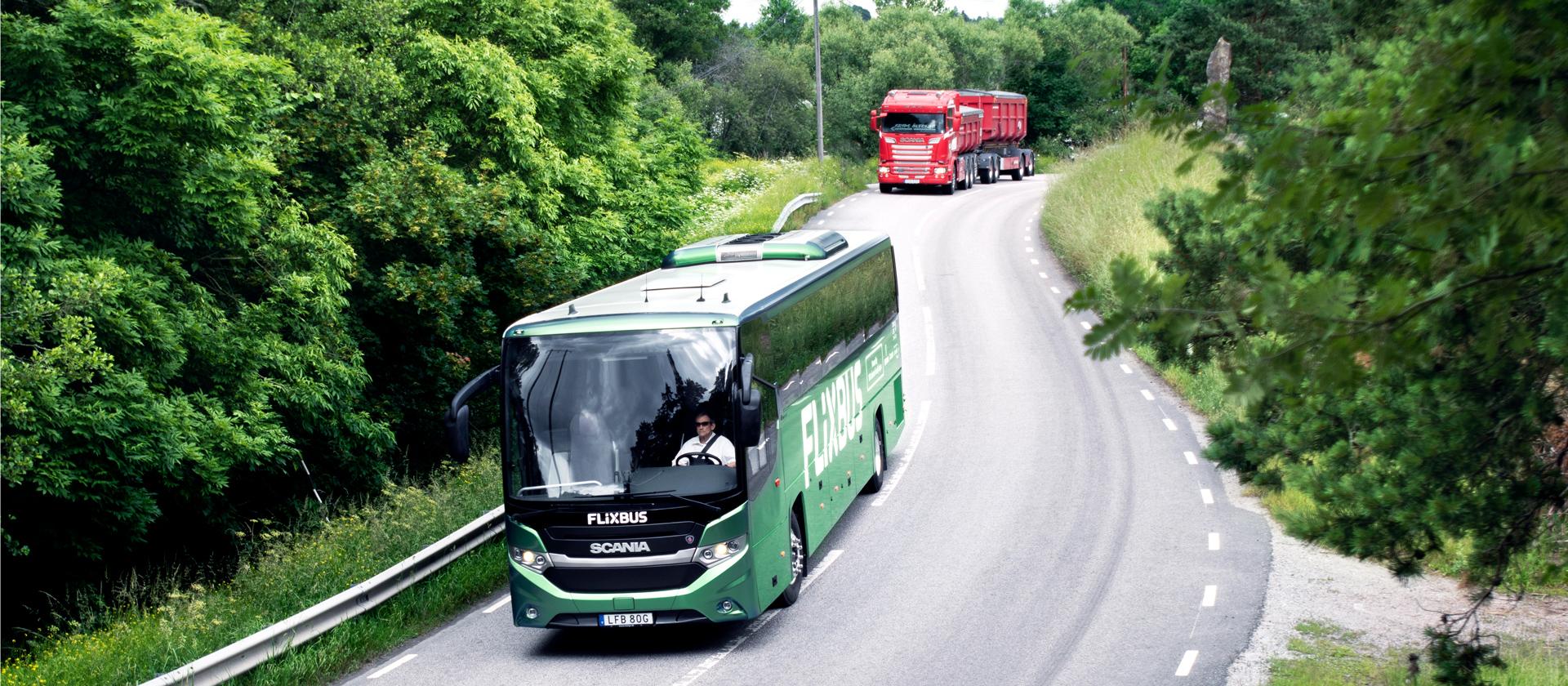 scania international biogas bus