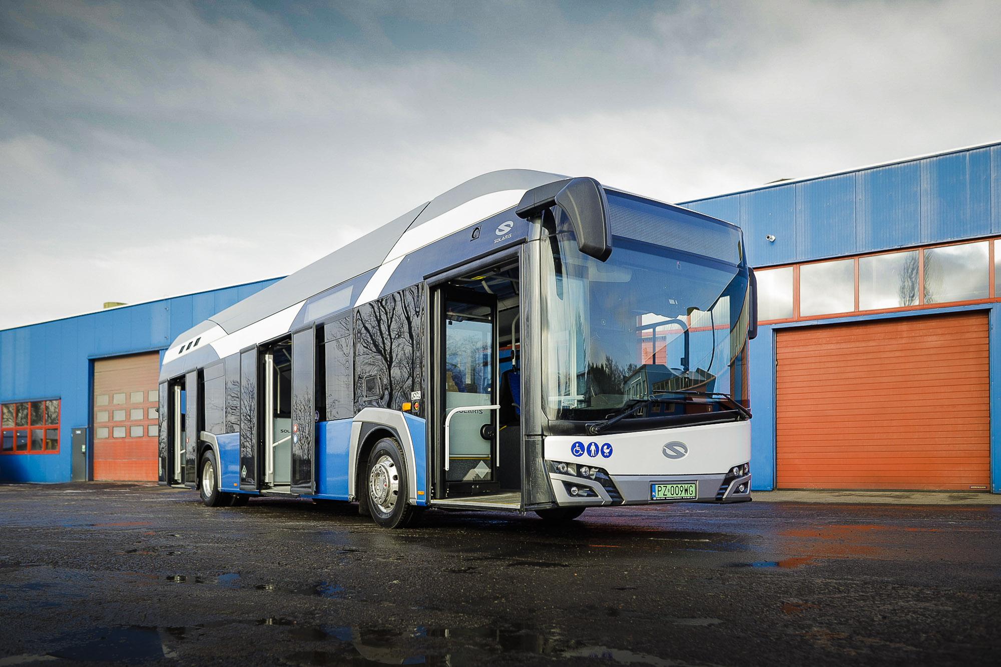 konin hydrogen bus