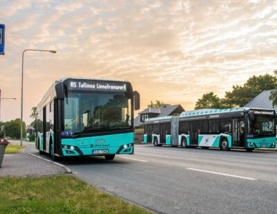 More CNG Solaris Buses to Be Deployed in Tallinn