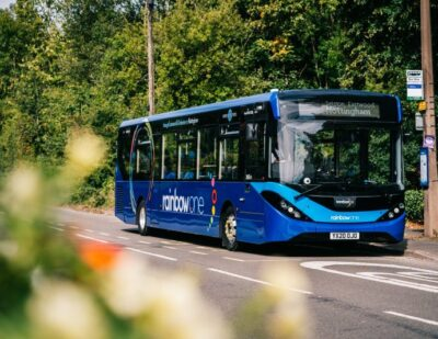 trentbarton's Entire Bus Fleet Protected by Latest Wheely-Safe Technology
