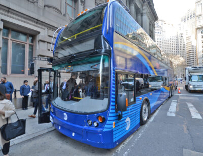The MTA and NYCDOT Unveil Plan to Improve Bus Services in New York City