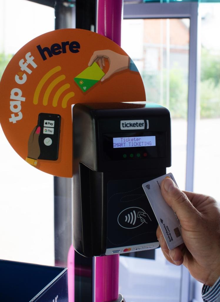 Ticketer Tap On Tap Off Scheme