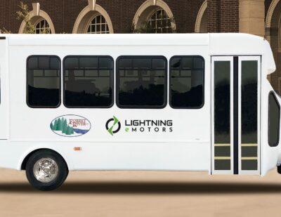Lightning eMotors and Forest River Inc. Partner for Zero-Emission Shuttle Buses