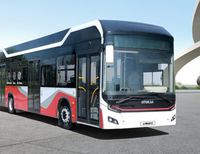 Webasto and Otokar Present the Fully Electric City Bus e-Kent C at IAA Mobility