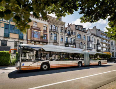 Aarhus Becomes the First Danish City to Operate Solaris e-Buses