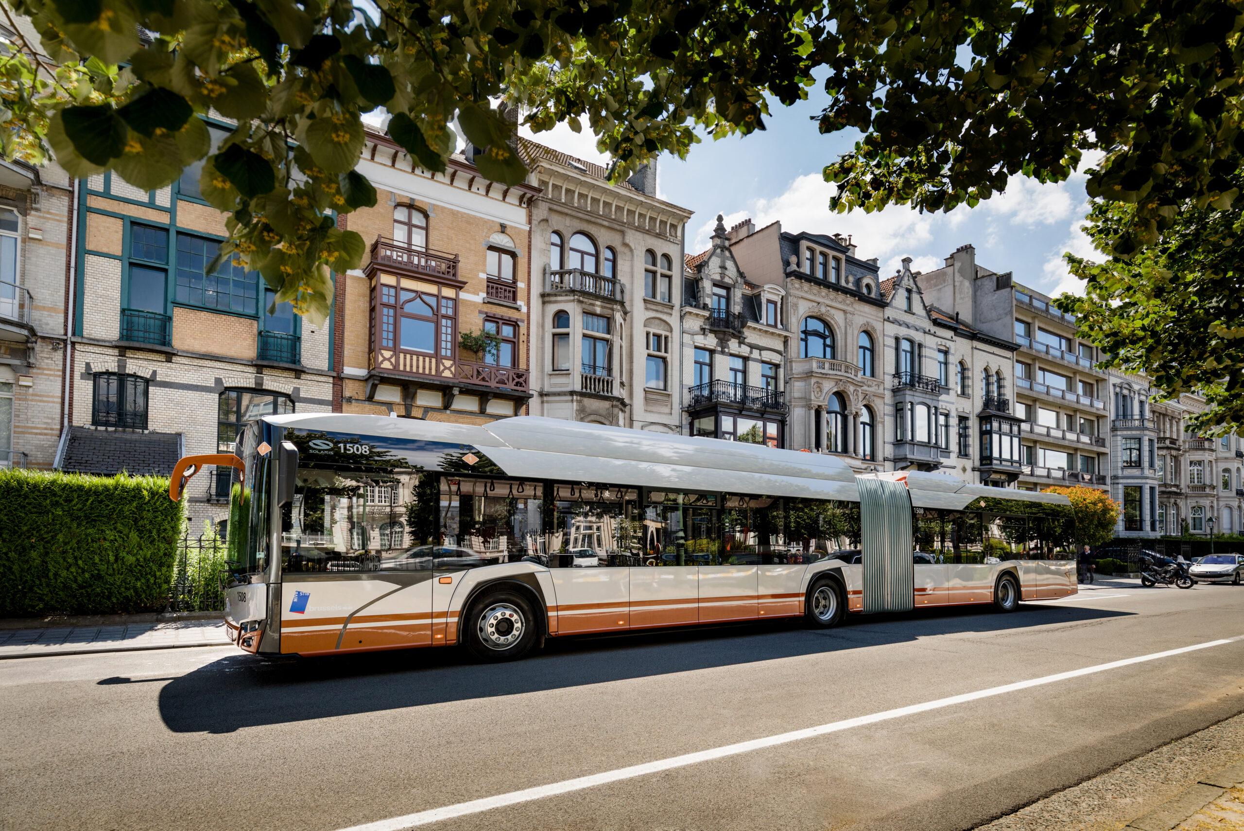 Aarhus solaris buses