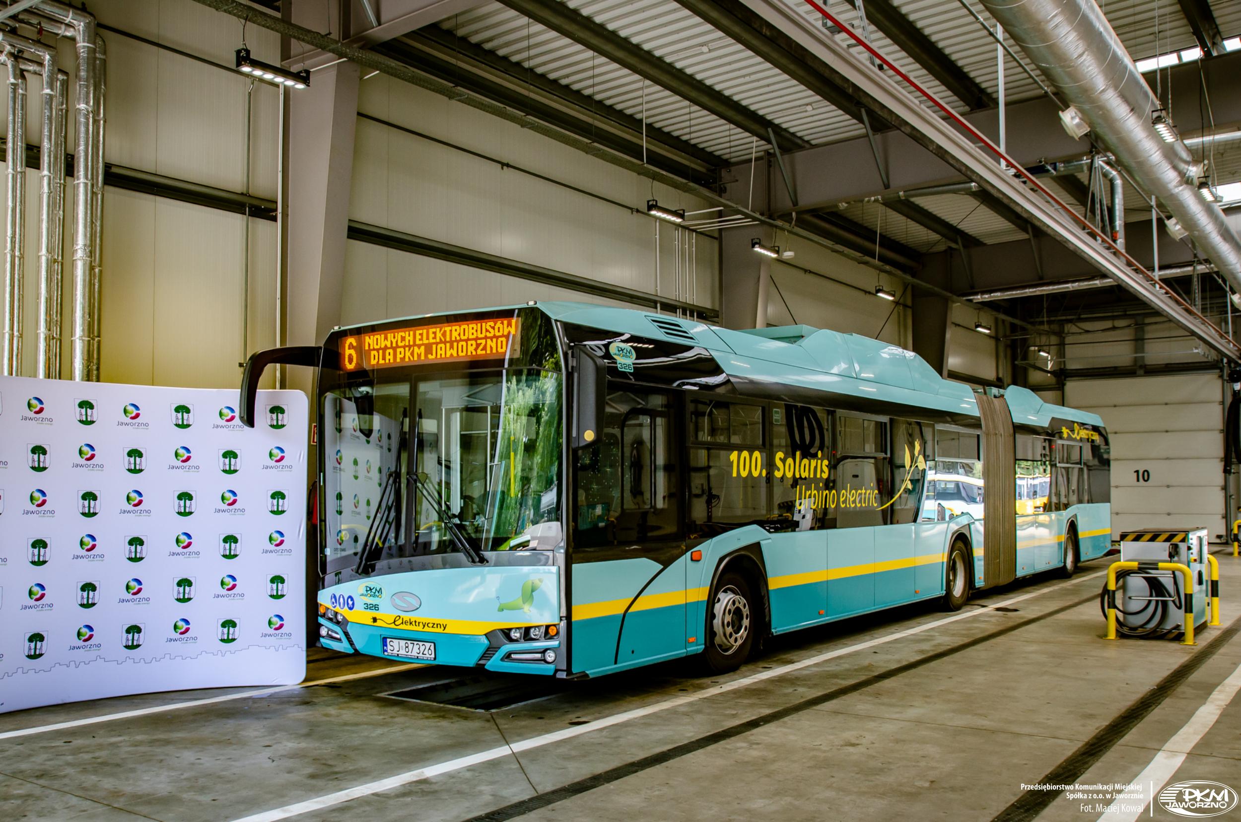 solaris buses Jaworzno