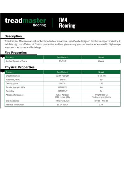 Treadmaster Flooring – TM4