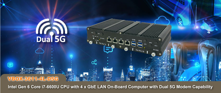 Dual 5G In-Vehicle Computer