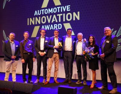 Ebusco Wins Automotive Innovation Award with the Ebusco 3.0 Bus