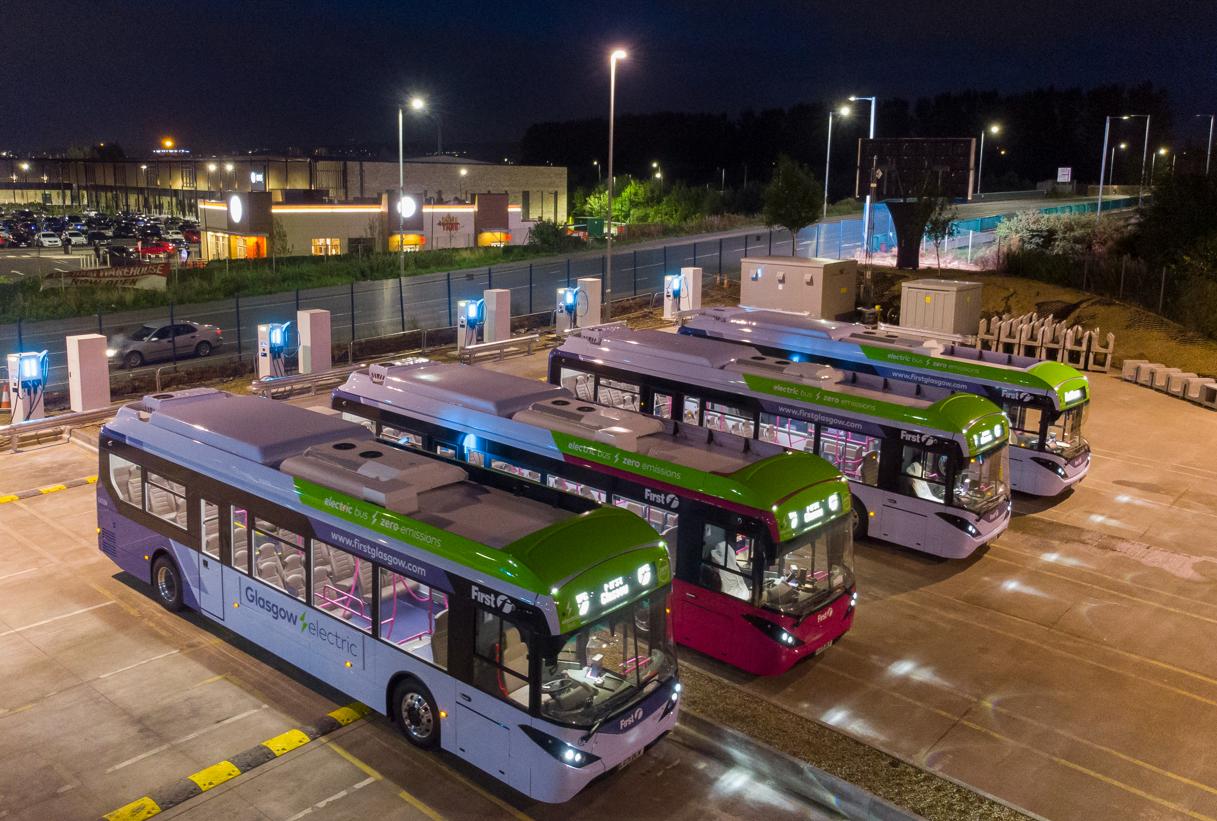 uk bus depot charge