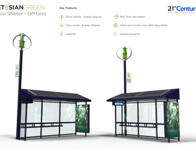 Bromsgrove to Get 'UK's Most Sustainable Bus Shelters'