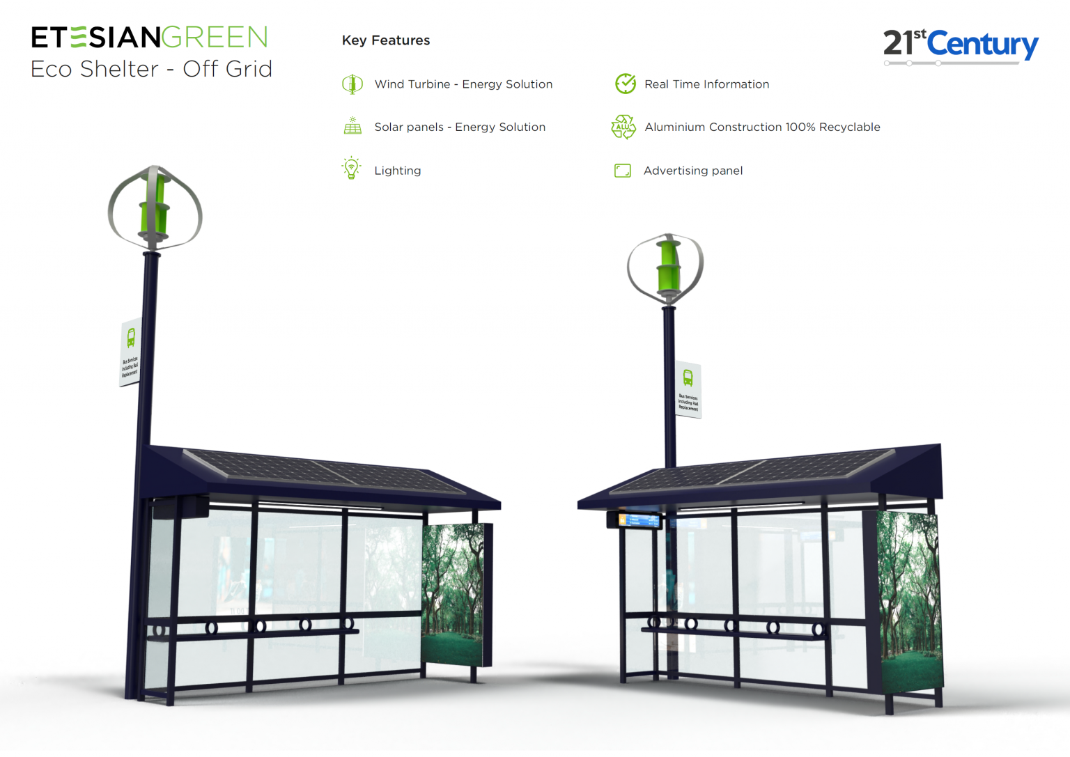 bromsgrove sustainable bus shelters