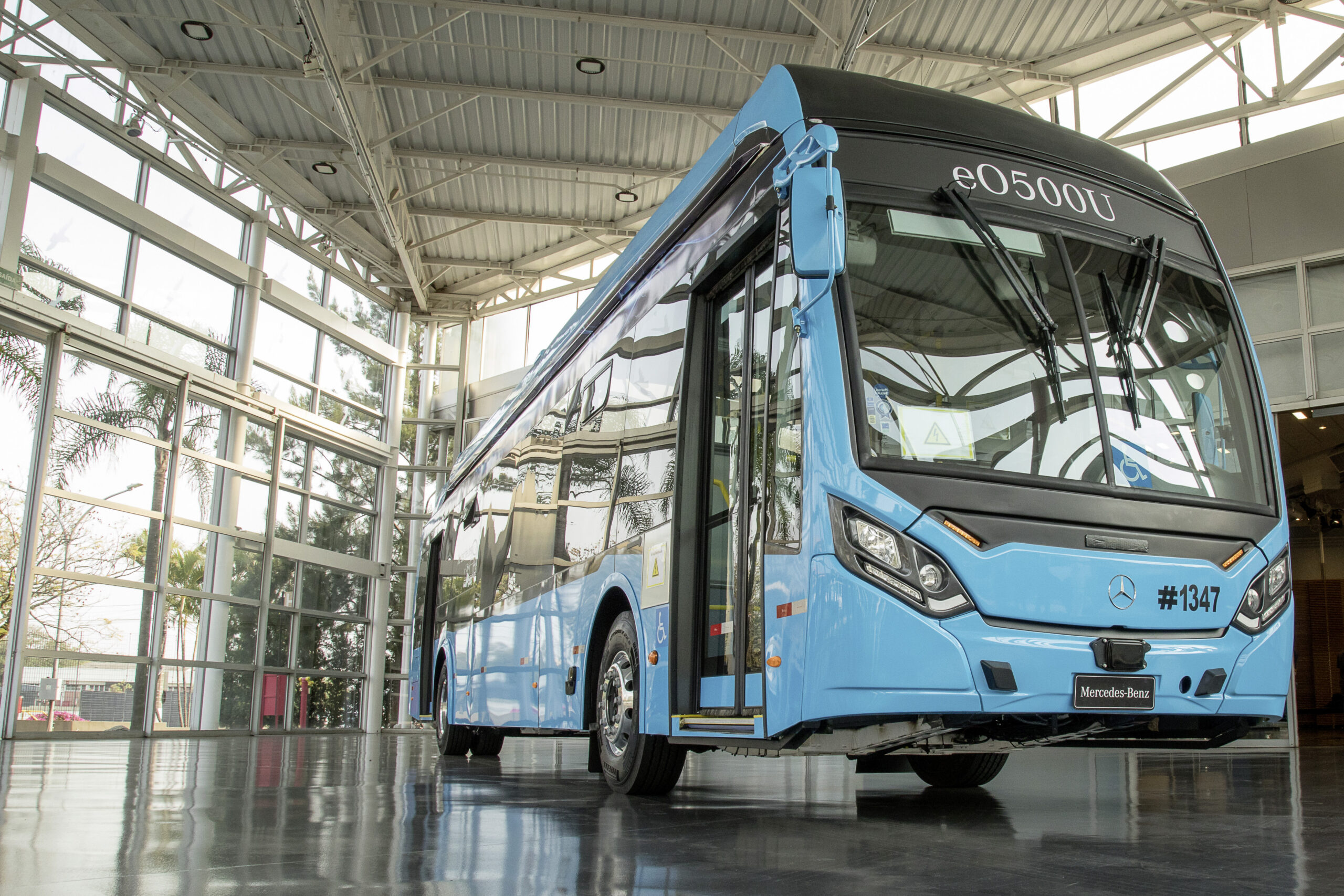 Mercedes-Benz brasil bus chassis