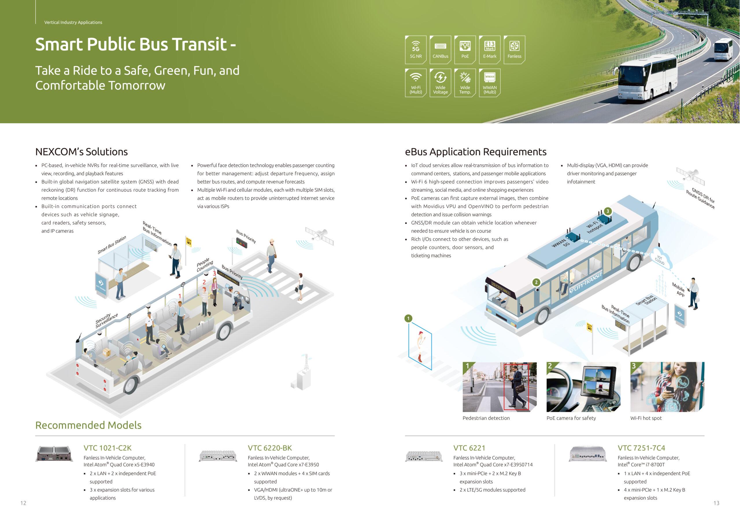 Smart Public Bus Transit