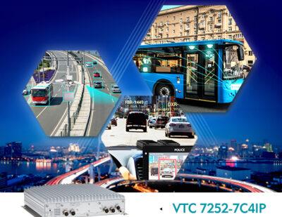 VTC 7252-7C4IP Brings Reinforced Monitoring for Safer Public Vehicles