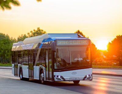 24 Electric Solaris Urbino 12 Buses Strengthen Barcelona's Zero-Emission Fleet