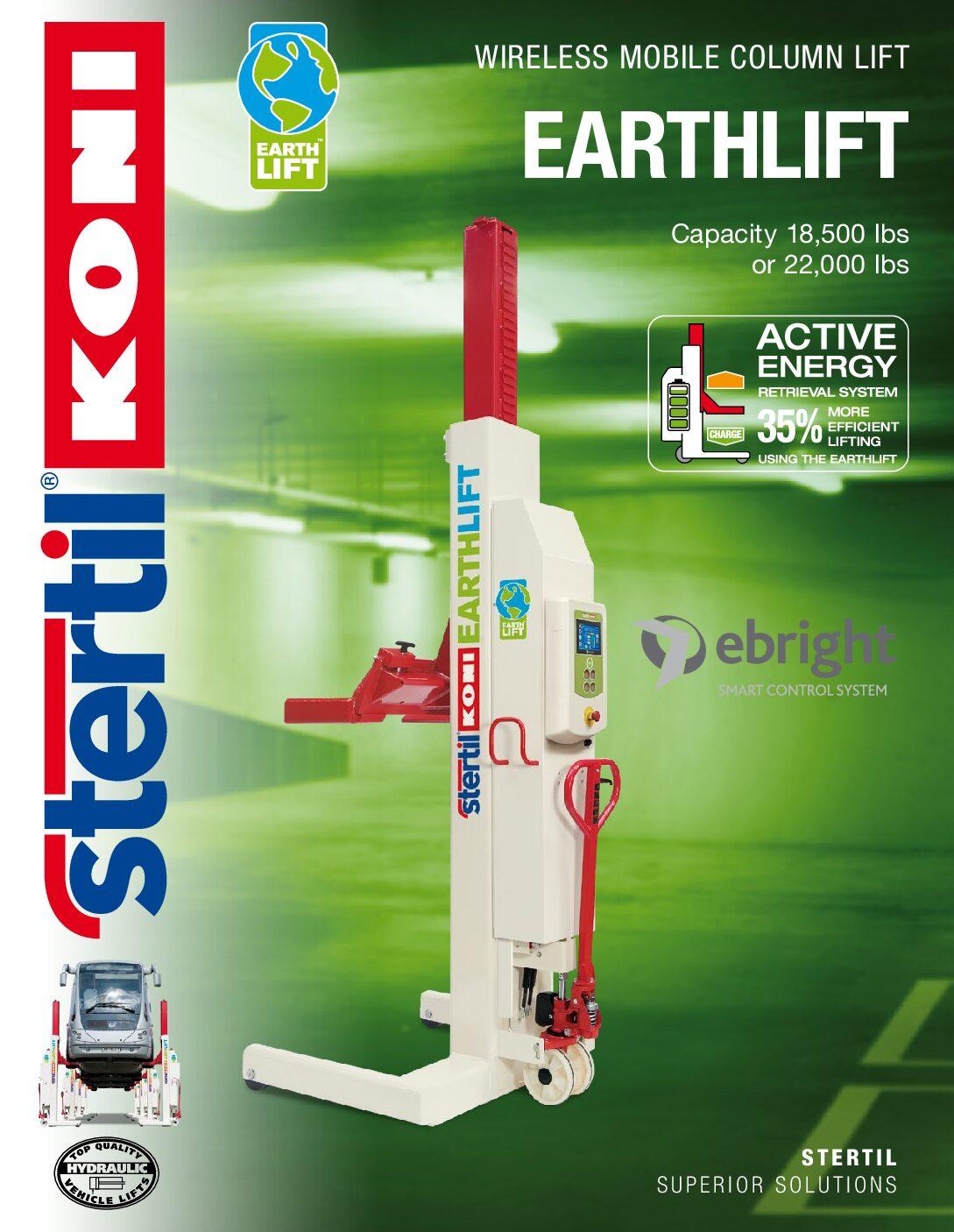 Stertil-Koni: EARTHLIFT – US Version