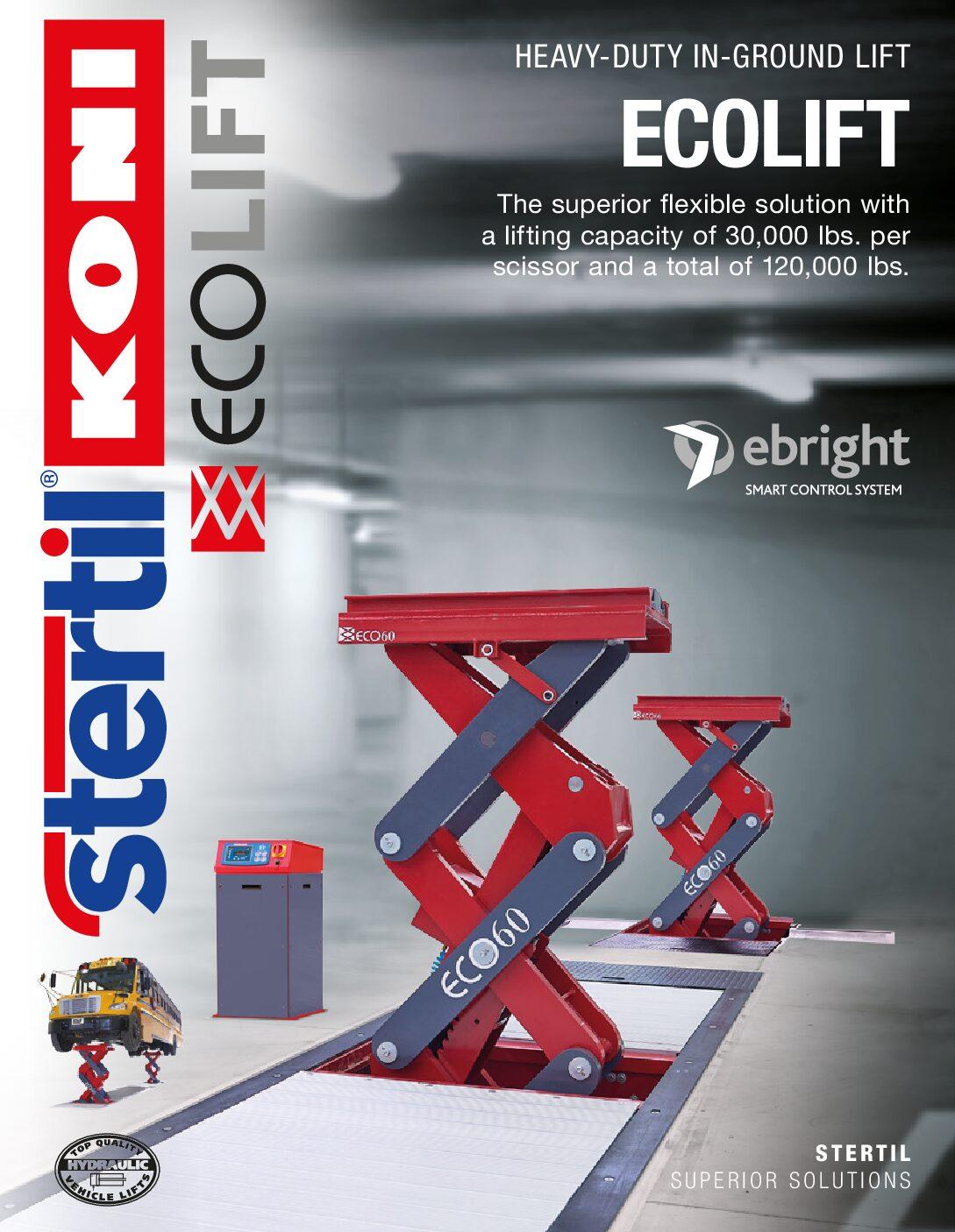 Stertil-Koni: ECOLIFT – US Version