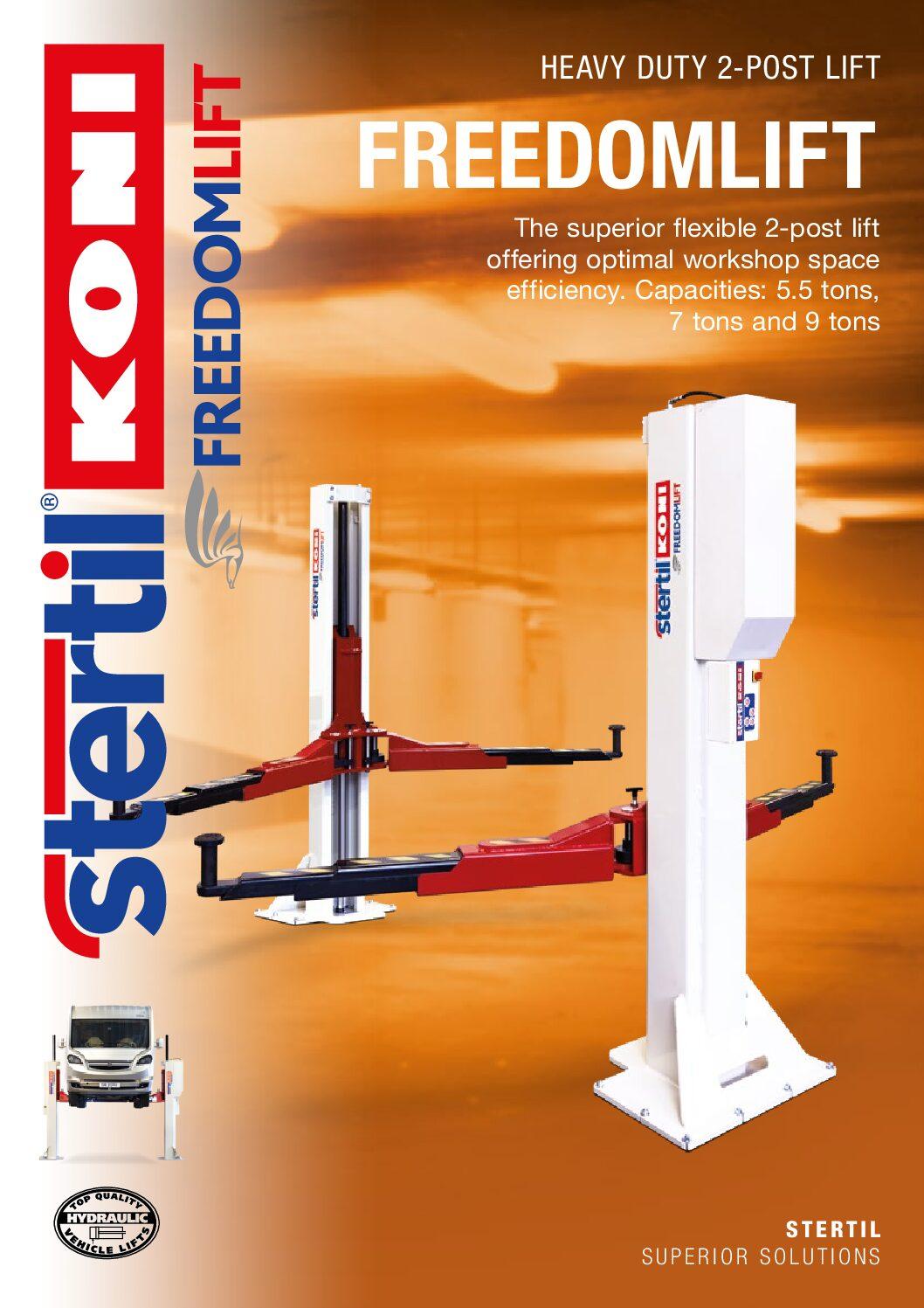 Stertil-Koni: FREEDOMLIFT – GB Version