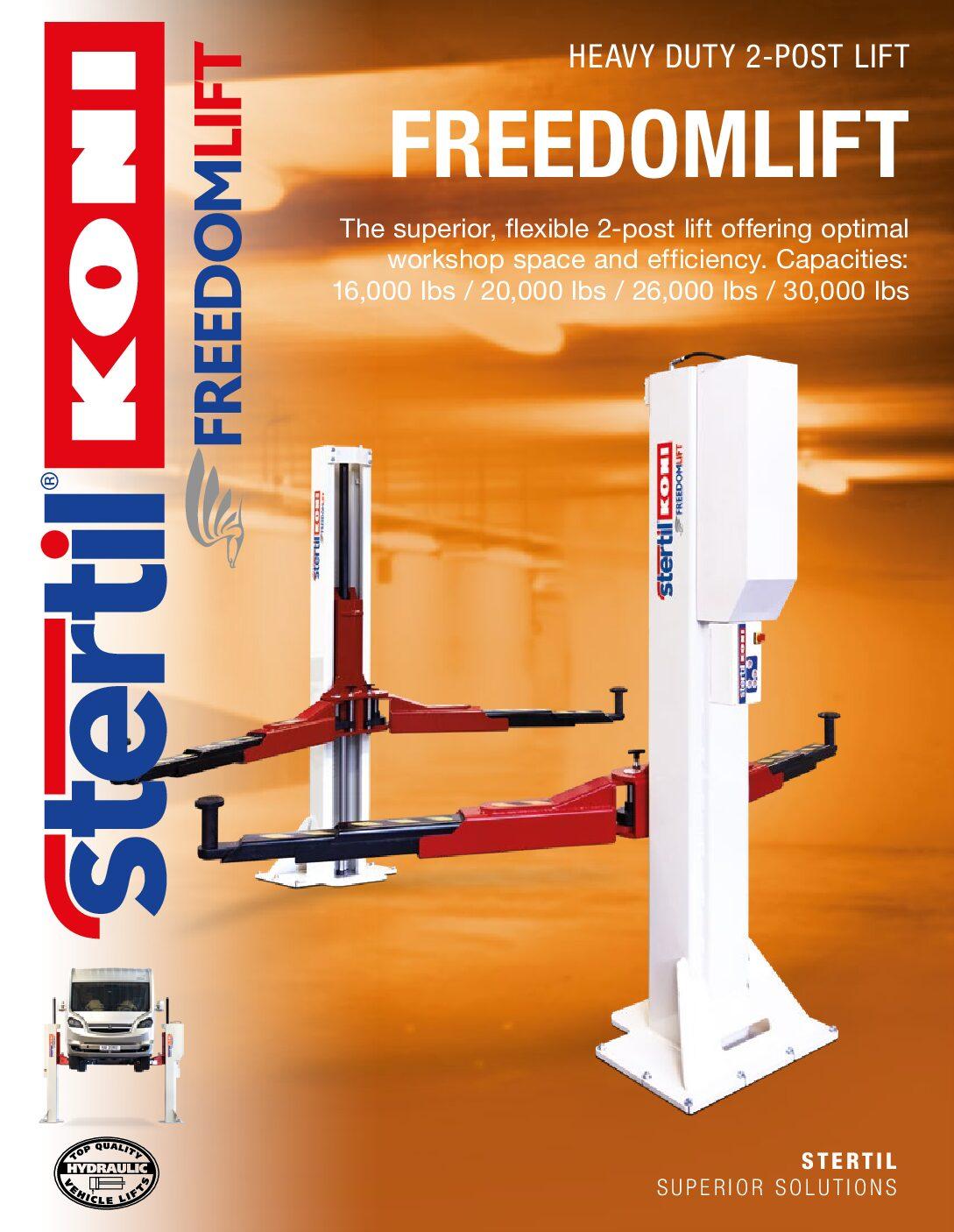 Stertil-Koni: FREEDOMLIFT – US Version