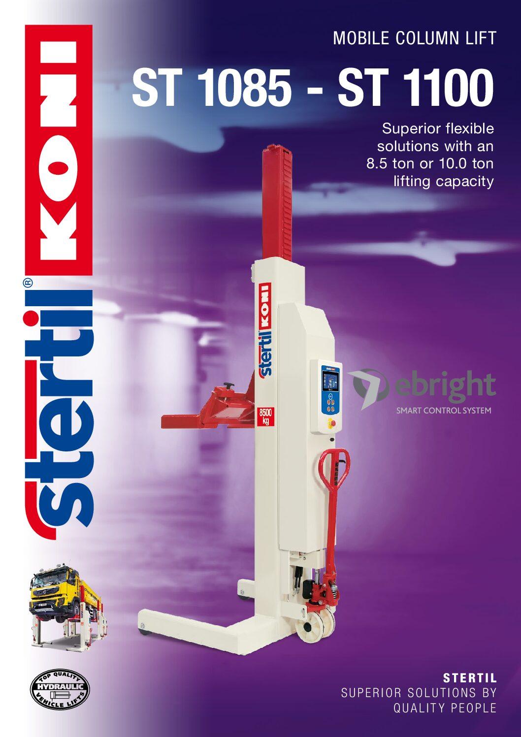 Stertil-Koni: ST 1085 – ST 1100 – GB Version