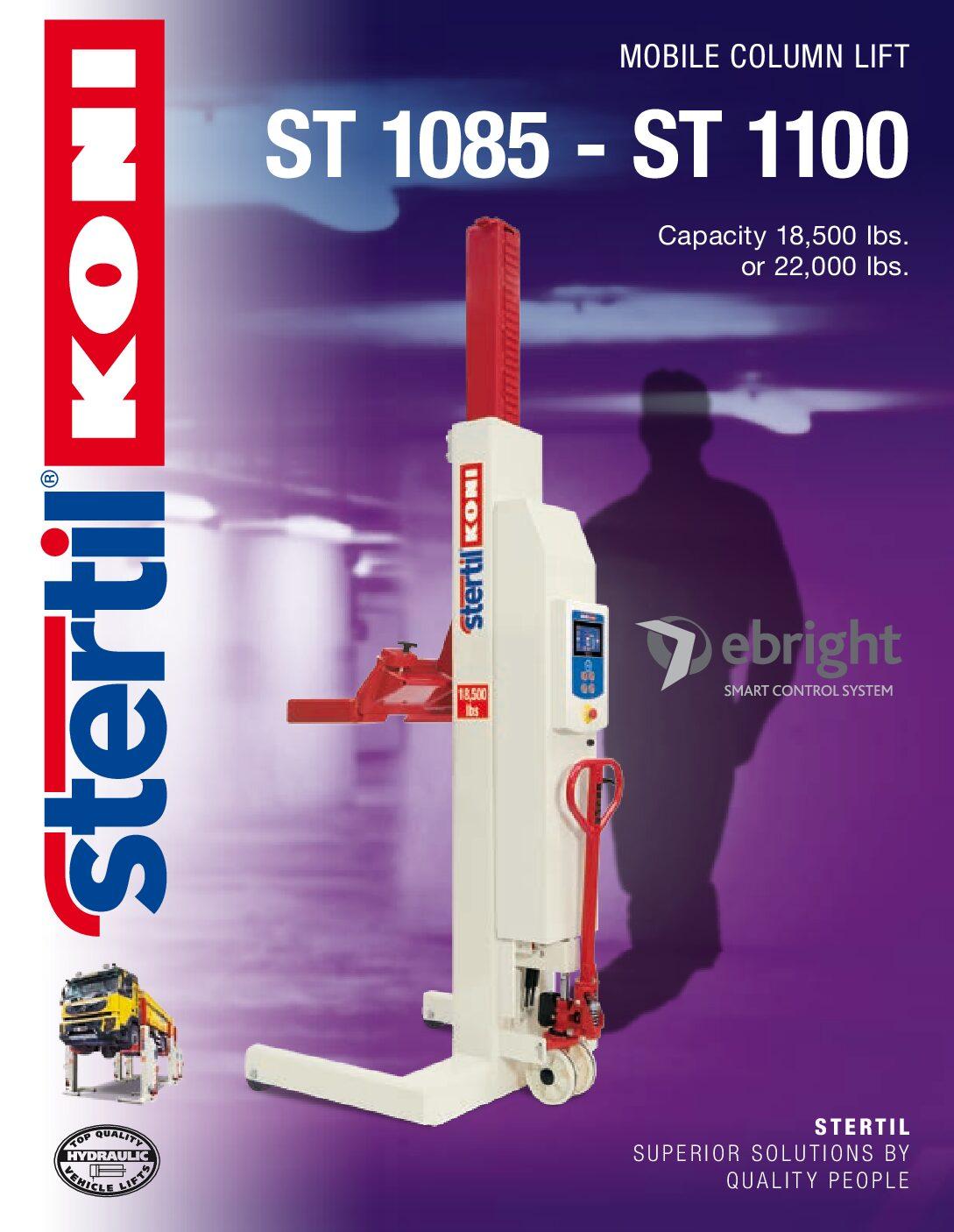 Stertil-Koni: ST 1085 – ST 1100 – US Version