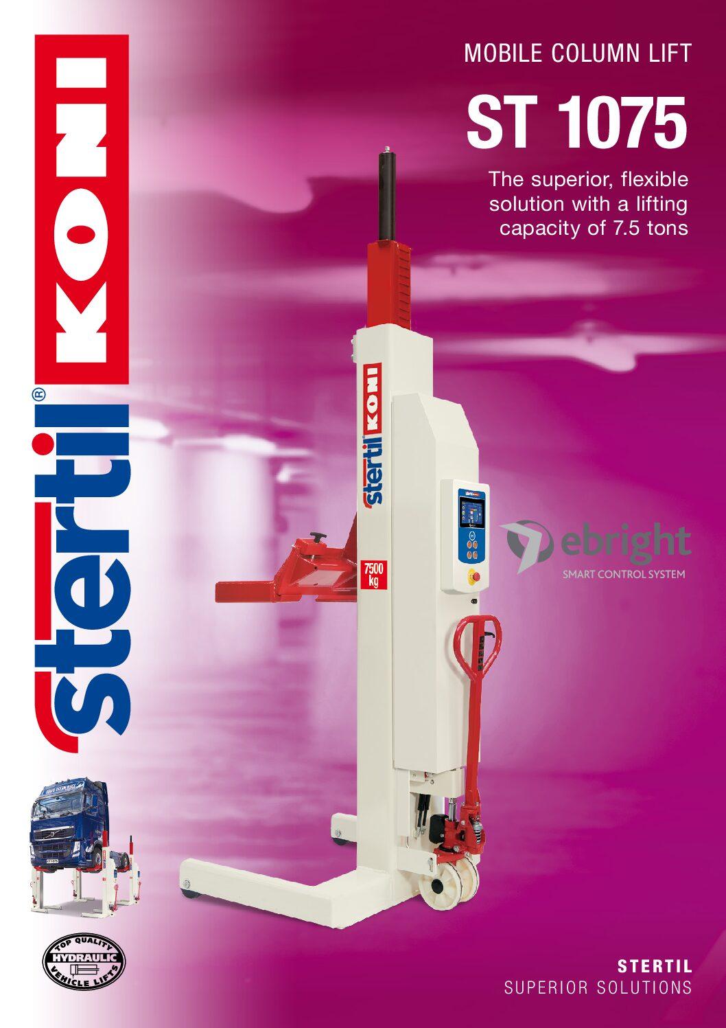 Stertil-Koni: ST 1075 – GB Version