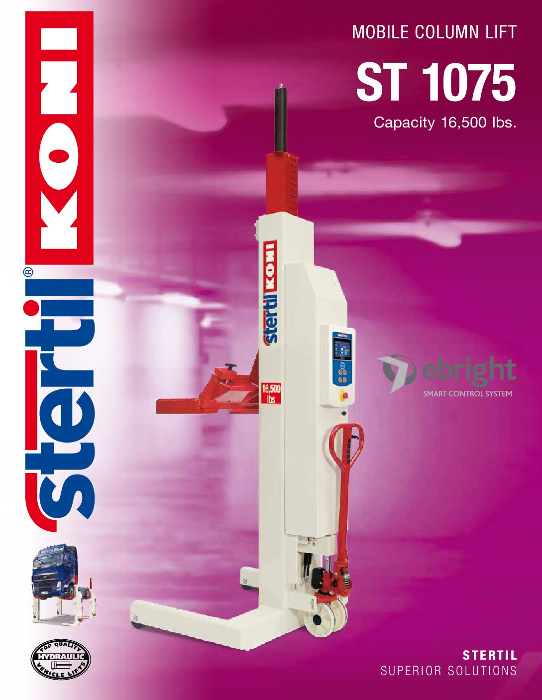 Stertil-Koni: ST 1075 – US Version