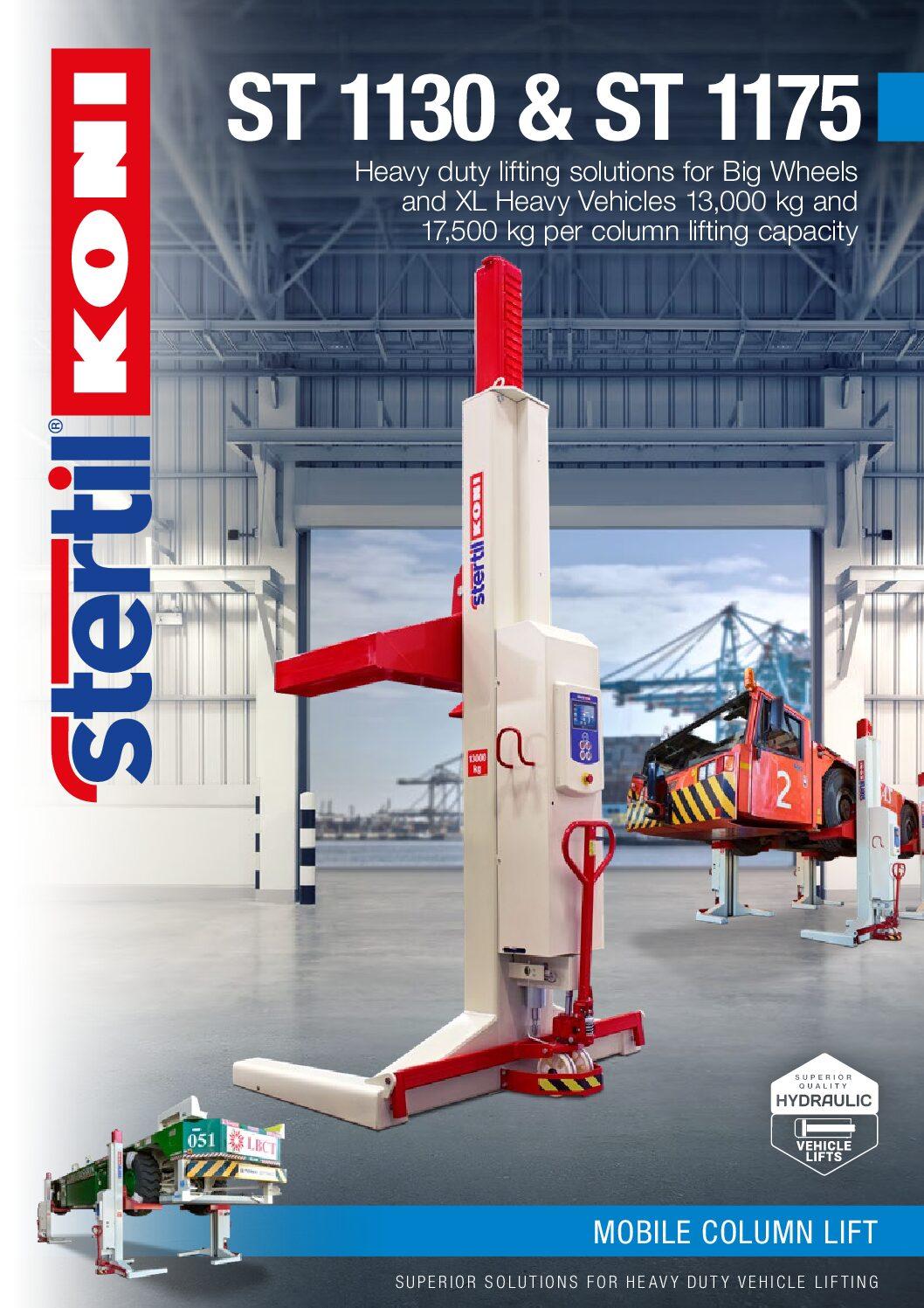 Stertil-Koni: ST 1130 and ST 1175 – GB Version