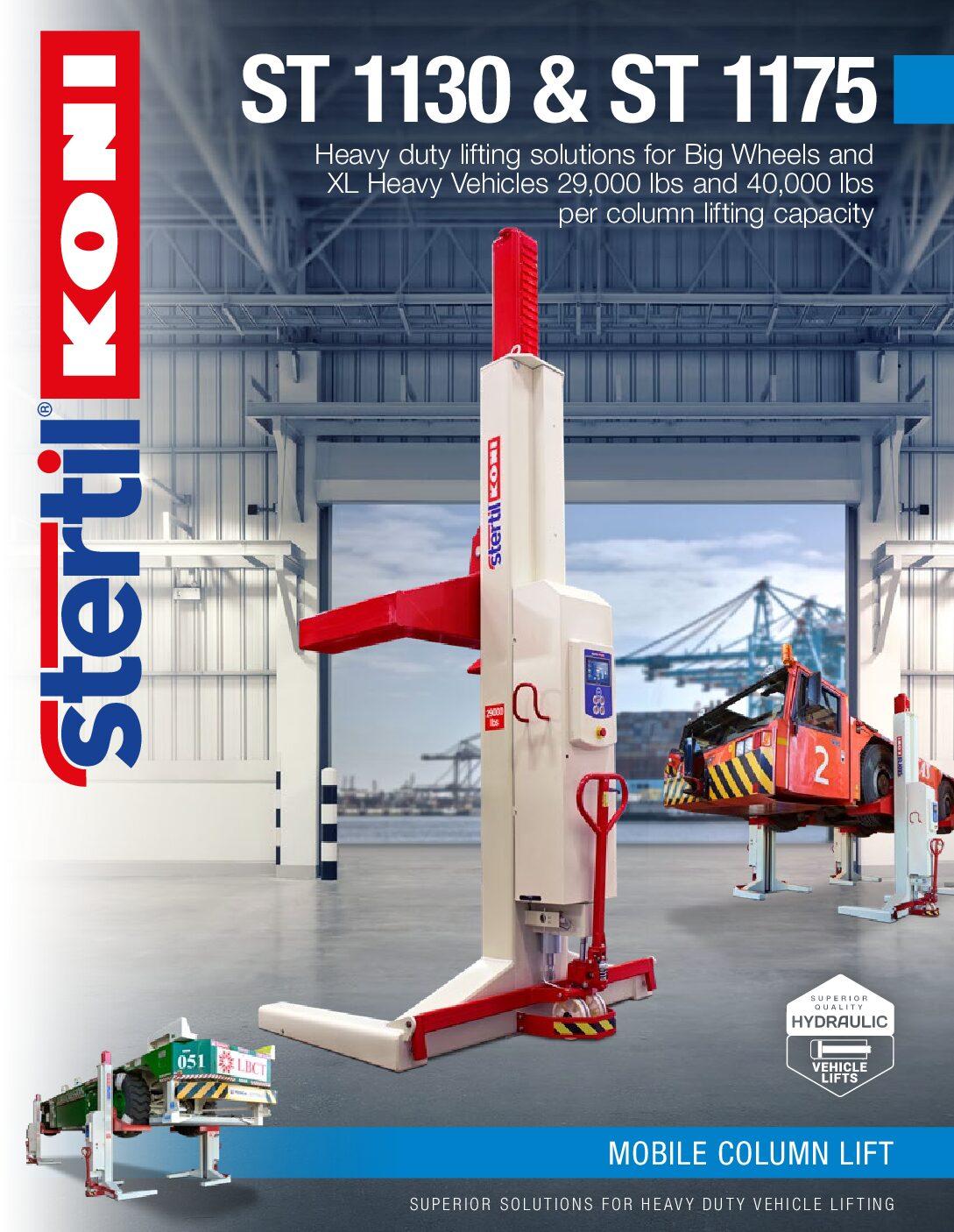 Stertil-Koni: ST 1130 and ST 1175 – US Version