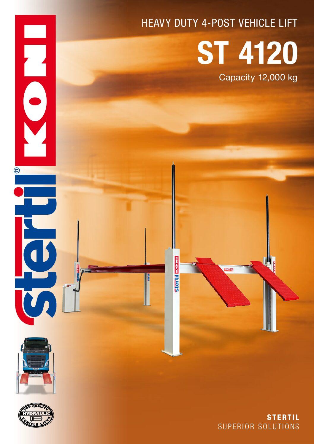 Stertil-Koni: ST 4120 – GB Version