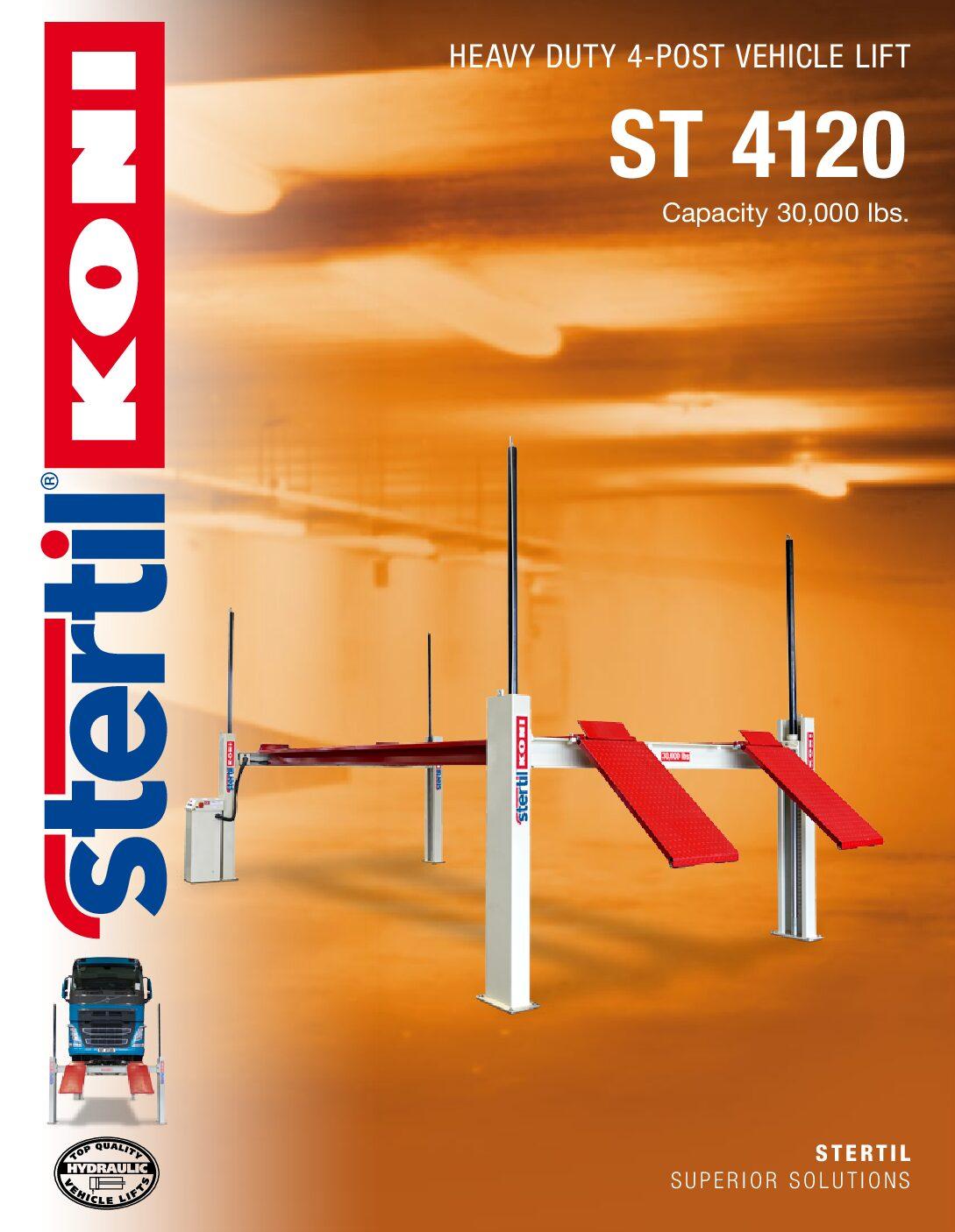 Stertil-Koni: ST 4120 – US Version