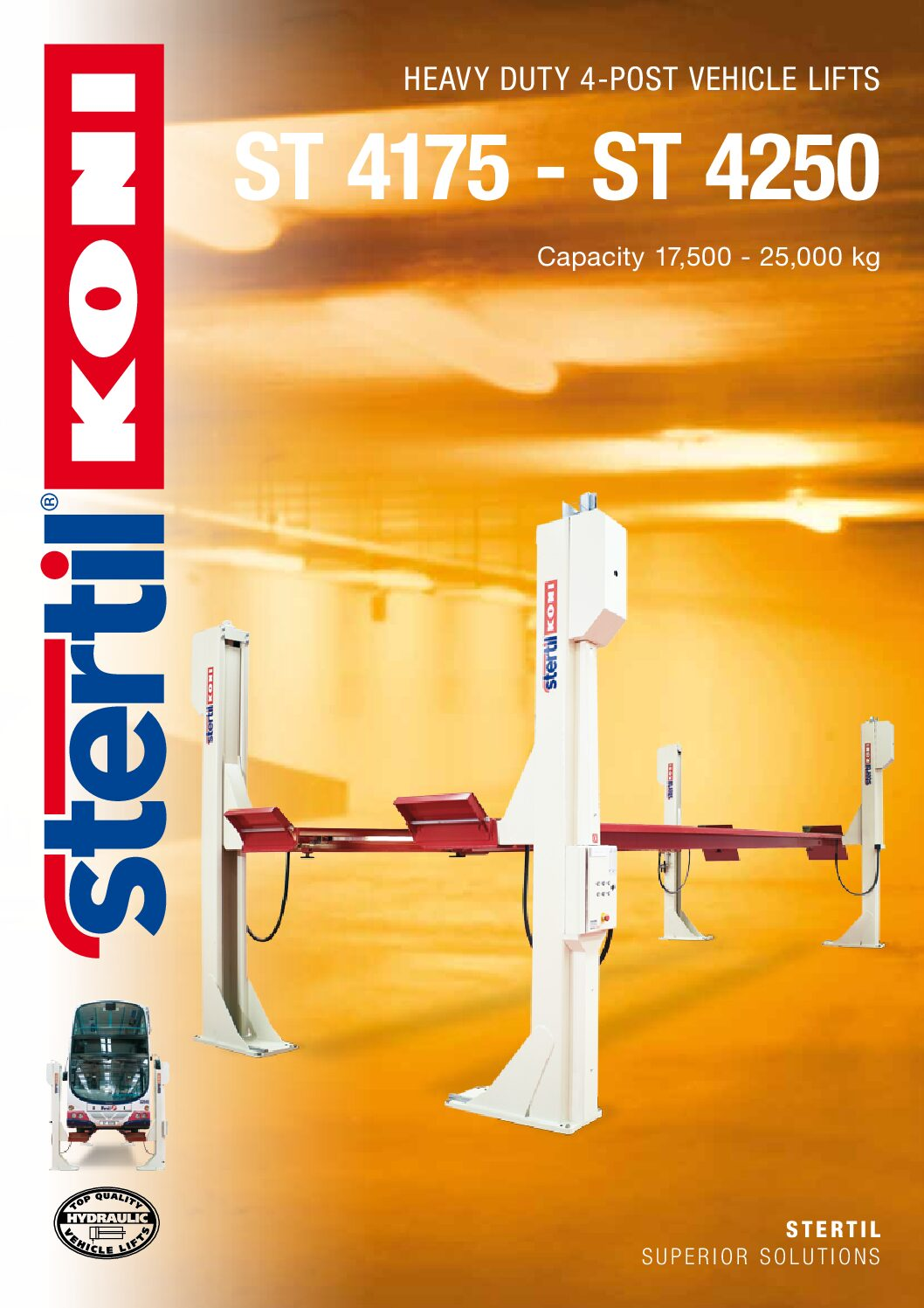 Stertil-Koni: ST 4175 and ST 4250 – GB Version