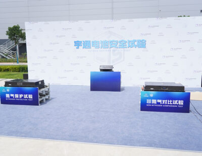 Yutong Launches its Latest EV Battery Safety Technology