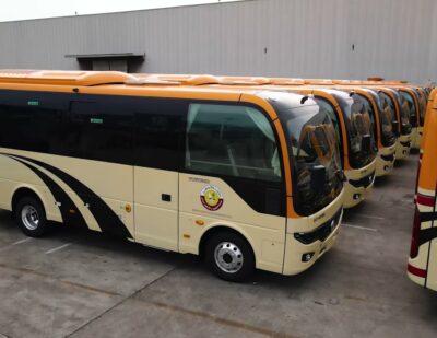 115 Yutong School Bus Shipping to Qatar