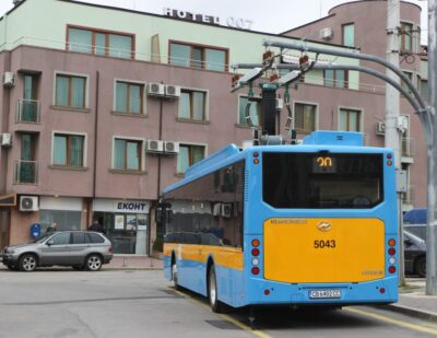 New Chariot-Higer e-Buses Enter Service in Sofia