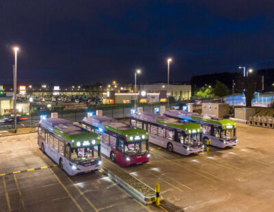 First's BYD ADL Electric Buses to Act as Official Shuttle for COP26 Delegates