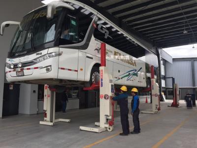 Mobile Column Lifts for Mercedes Dealer
