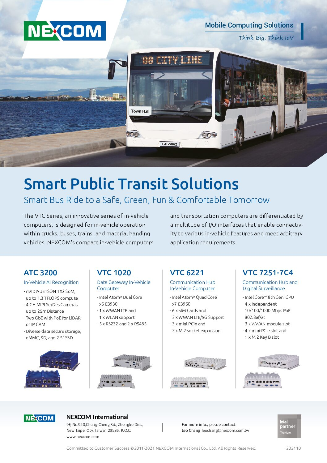 Smart Buses Steer into Smart Cities with Vehicle Telematics