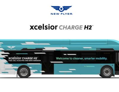 California's Foothill Transit Orders 20 Hydrogen Buses from New Flyer