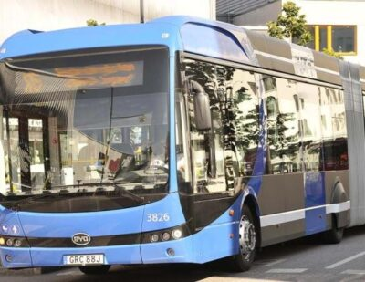 Nobina Wins Two Major Contracts in Stockholm Featuring Electric Buses