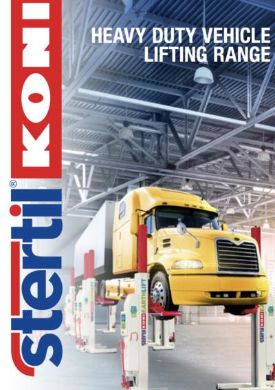 Stertil-Koni: Heavy Duty Vehicle Lifting Range