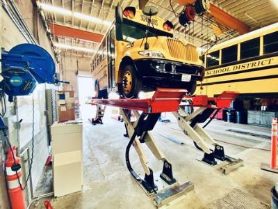 North America's Largest EV School Bus Fleet Selects Stertil-Koni