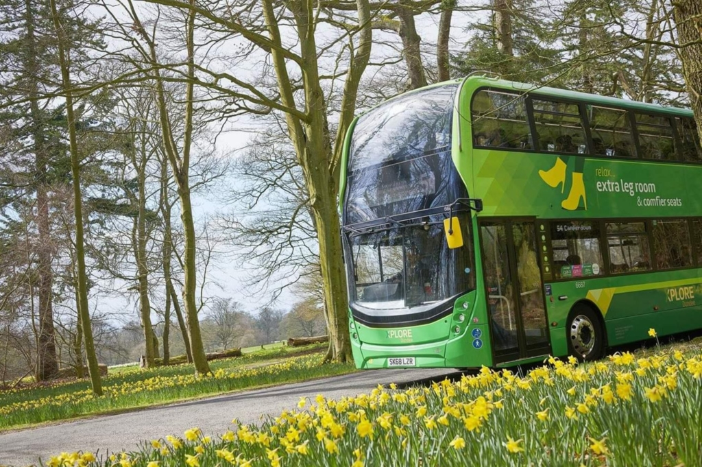 Buses Support Green Mobility